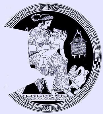 أساطير أغريقية .... PasiphaeMinotaurus