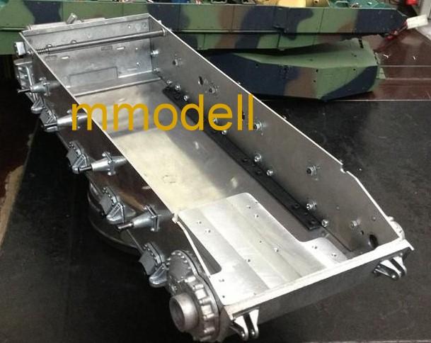 Panzer IV: finalmente lo scafo in metallo! Vier-1