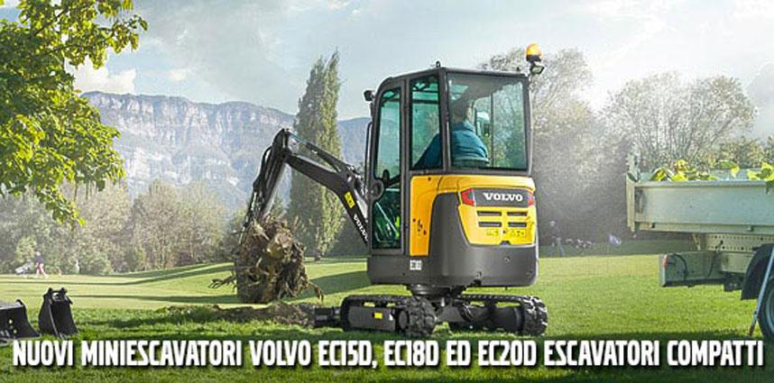 miniescavatori Volvo EC15D, EC18D ed EC20D 6ffe182a-d466-40c4-9dae-592d07061cd0