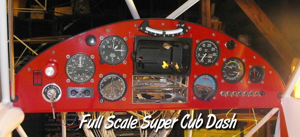 "On the Ramp Right Now:  P-51D ""Swamp Fox"" Visits KCGI  - Page 2 Super%20Cub%20Dash"