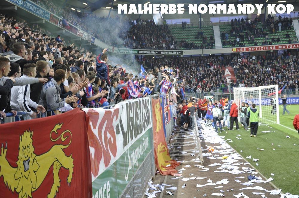 [28e journée de L2] SM Caen 1-1 Nîmes Olympique - Page 18 Nimes09