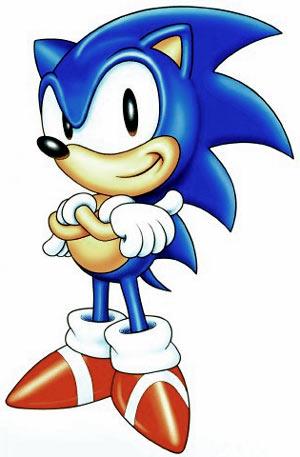Mario Vs. Sonic Sega-sonic