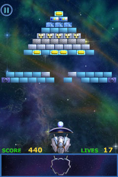 [JEU] METEOR BRICK BREAKER : Un bon casse brique / shoot'em up [Démo/Payant] Ameteor1_240