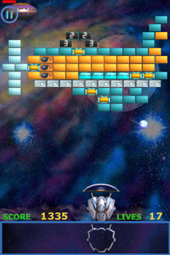 [JEU] METEOR BRICK BREAKER : Un bon casse brique / shoot'em up [Démo/Payant] Ameteor6_240