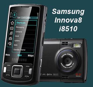 حدث موديلات  Samsung-innova8-i8510-phone
