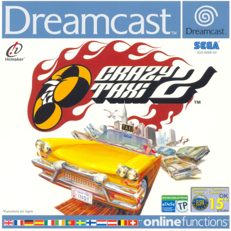 Crushing Disappointment 38762-crazy-taxi-2-dreamcast-front-cover