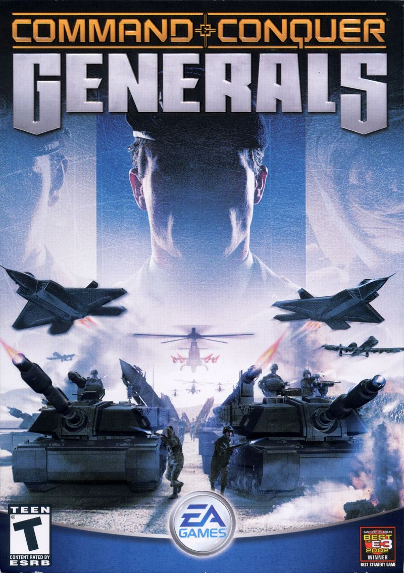 Command and Conquer: Generals [PC Game - RTS] 1045511582-00