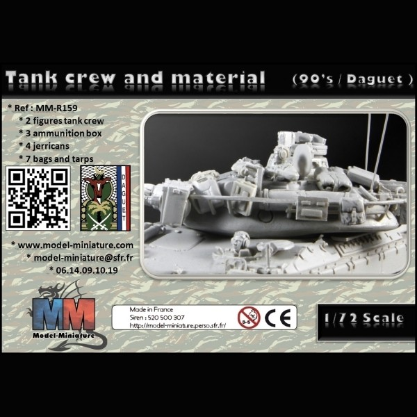 [Model-Miniature] AMX-10 RC (90'S / DAGUET OPERATION) 1/72e 447-872-thickbox
