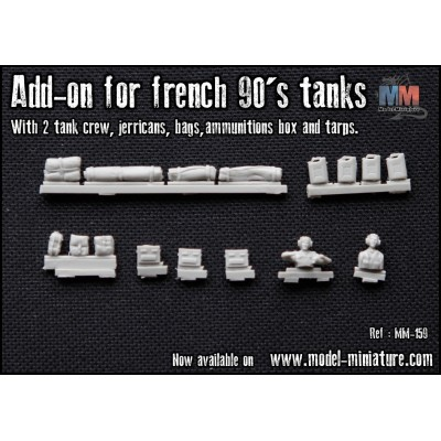 [Model-Miniature] AMX-10 RC (90'S / DAGUET OPERATION) 1/72e 447-874-large