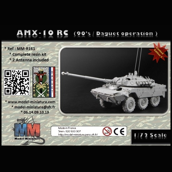 [Model-Miniature] AMX-10 RC (90'S / DAGUET OPERATION) 1/72e 448-877-thickbox