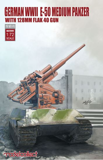 News Modelcollect - Page 2 0003088_german-wwii-e-50-medium-panzer-with-128mm-flak-40-gun_550
