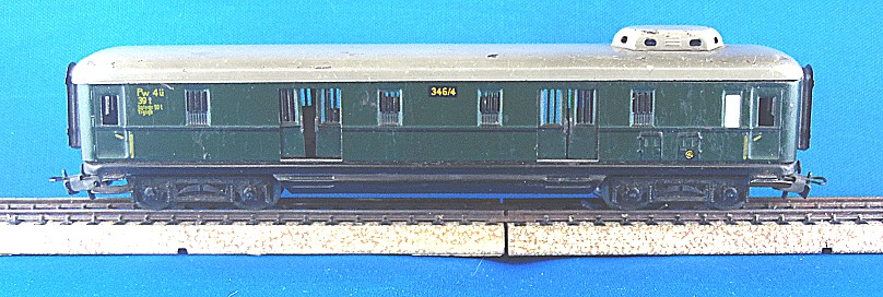 Post/Gepäckwagen 4012-6