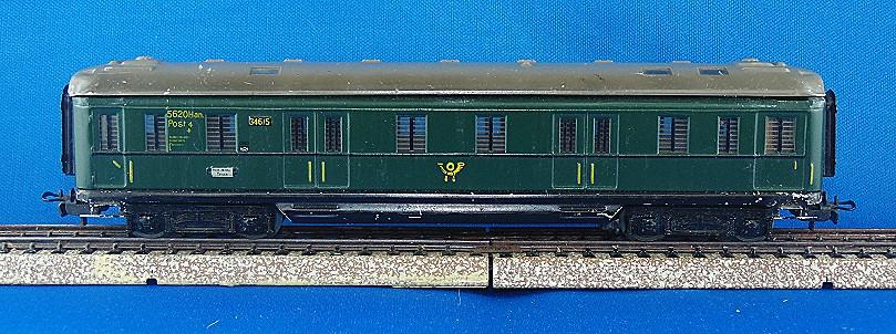 Post/Gepäckwagen 4013-6