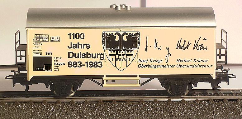 Märklin Werbewagen aus den 80er Jahren BILD0107
