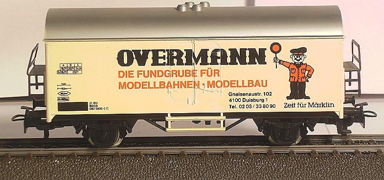 Märklin Werbewagen aus den 80er Jahren BILD0109