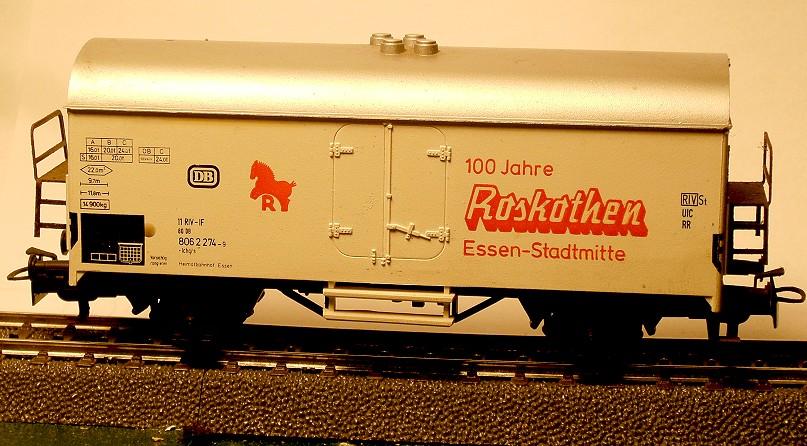 Märklin Werbewagen aus den 80er Jahren W03