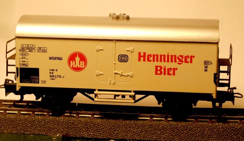 Märklin Werbewagen aus den 80er Jahren W04