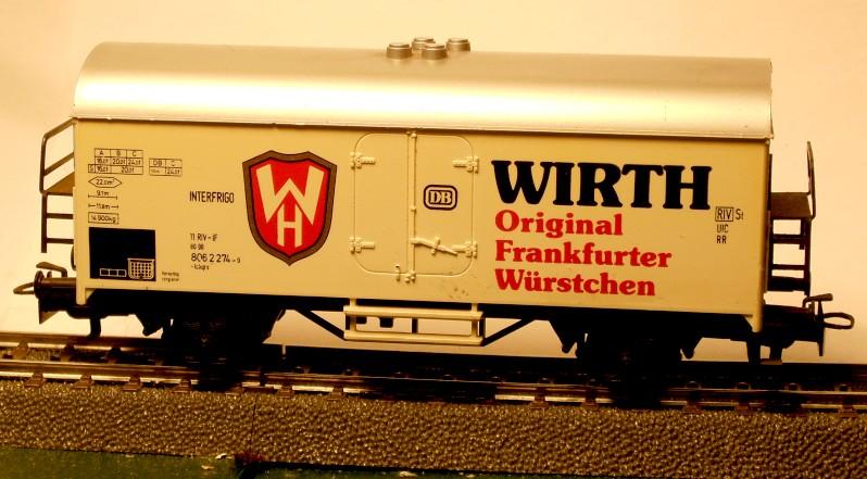 Märklin Werbewagen aus den 80er Jahren W05