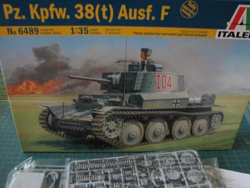 Pz.KpfW. 38(t) Ausf F [ITALERI 1:35] IMG_3507