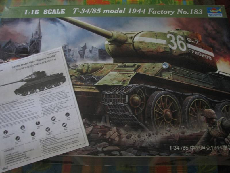 T34/85 model 1944 Factory No.183 [TRUMPETER 1:16] Img_4349