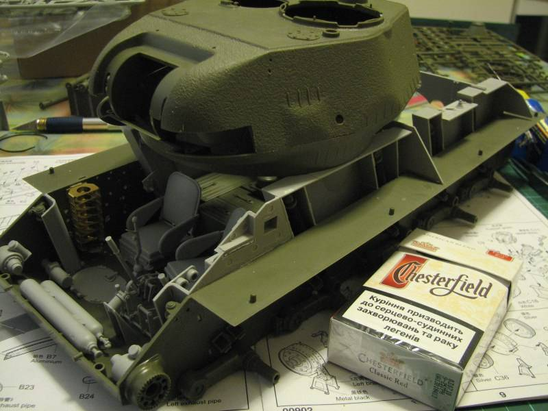 T34/85 model 1944 Factory No.183 [TRUMPETER 1:16] Img_4414