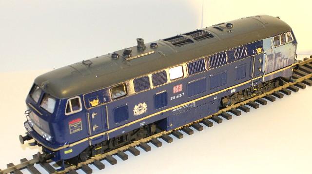 Die V160-Familie, Baureihe 210-219 der DB Hp218473