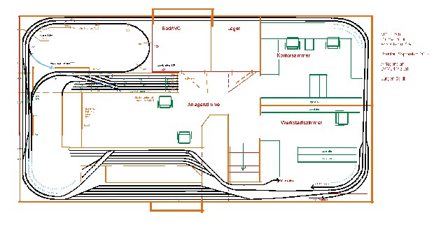 Das Munkedal - Oberstdorf - Bahn Projekt 1:45 SPMU114A