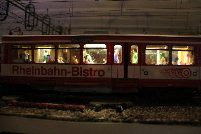 Strassenbahn - Bastelbogen Hp2730