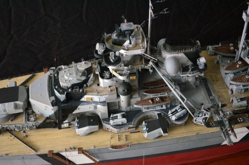BISMARCK - 1/200 by Trumpeter, Pontos (Advanced-Set), CMK, Blue Ridge Model, ... Bismarck-trumpeter