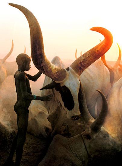 لمحات تاريخية للصراع بجنوب السودان 01Dinka