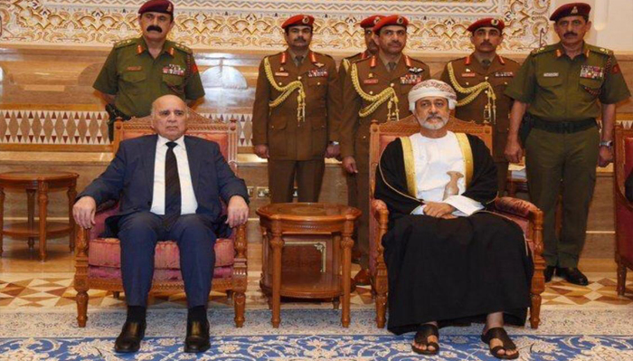 The Deputy Prime Minister and Minister of Finance heads the delegation of the Republic of Iraq to offer condolences to the Sultanate of Oman Mof45