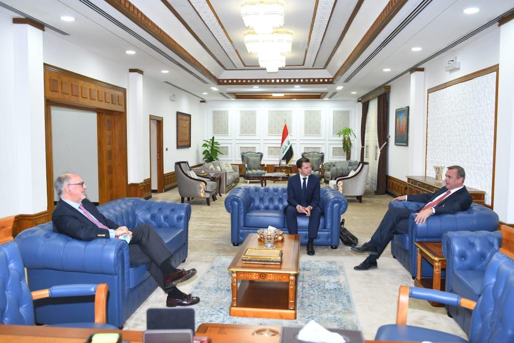 Dr. Ali Allawi receives the Dutch ambassador in Baghdad 172f2f30-74f9-41bb-b608-49737a1c4ab2