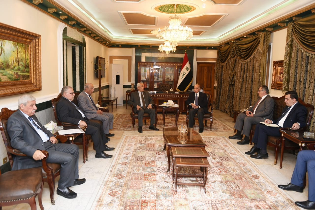 Deputy Prime Minister for Economic Affairs receives the President of the Association of Poultry Breeders and a number of field owners and manufacturers of chicken meat and table eggs 0cf350a7-1a39-4836-9563-bb0251bb7e34