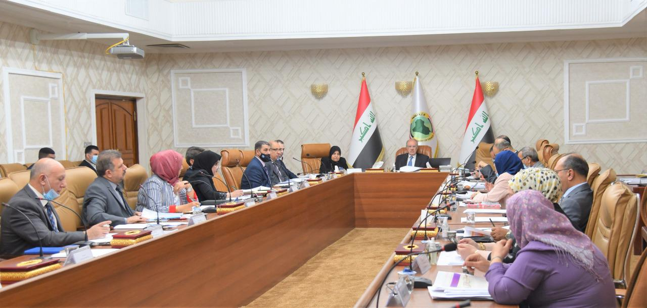 The Minister of Finance chairs the twelfth session of the committee to prepare the budget strategy for the years 2022-2024 2