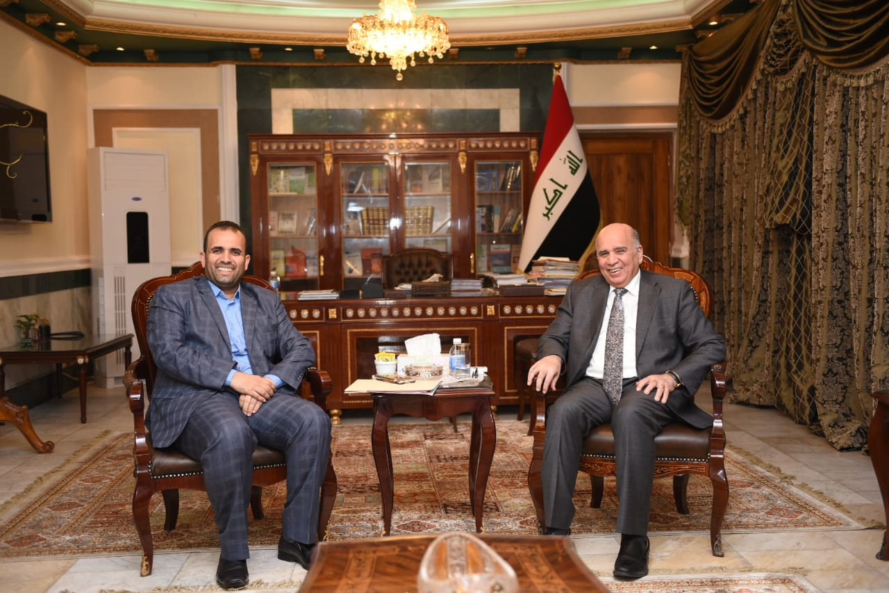Deputy Prime Minister for Economic Affairs Minister of Finance meets a number of members of the Iraqi Council of Representatives 89708168-1080-4683-870d-3b7e18fc70c4