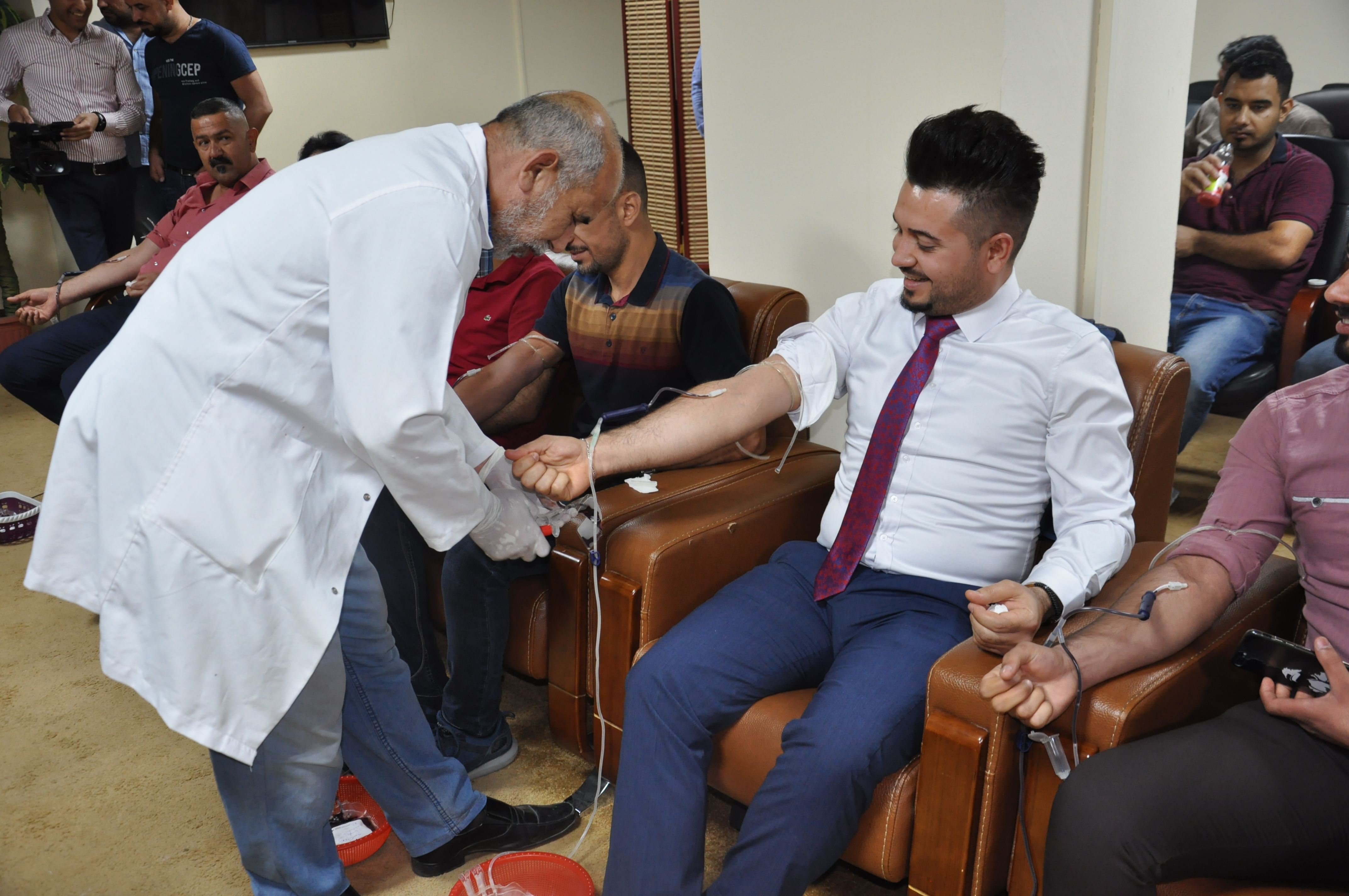 The Ministry of Finance is organizing a blood donation campaign for its employees DSC_0287