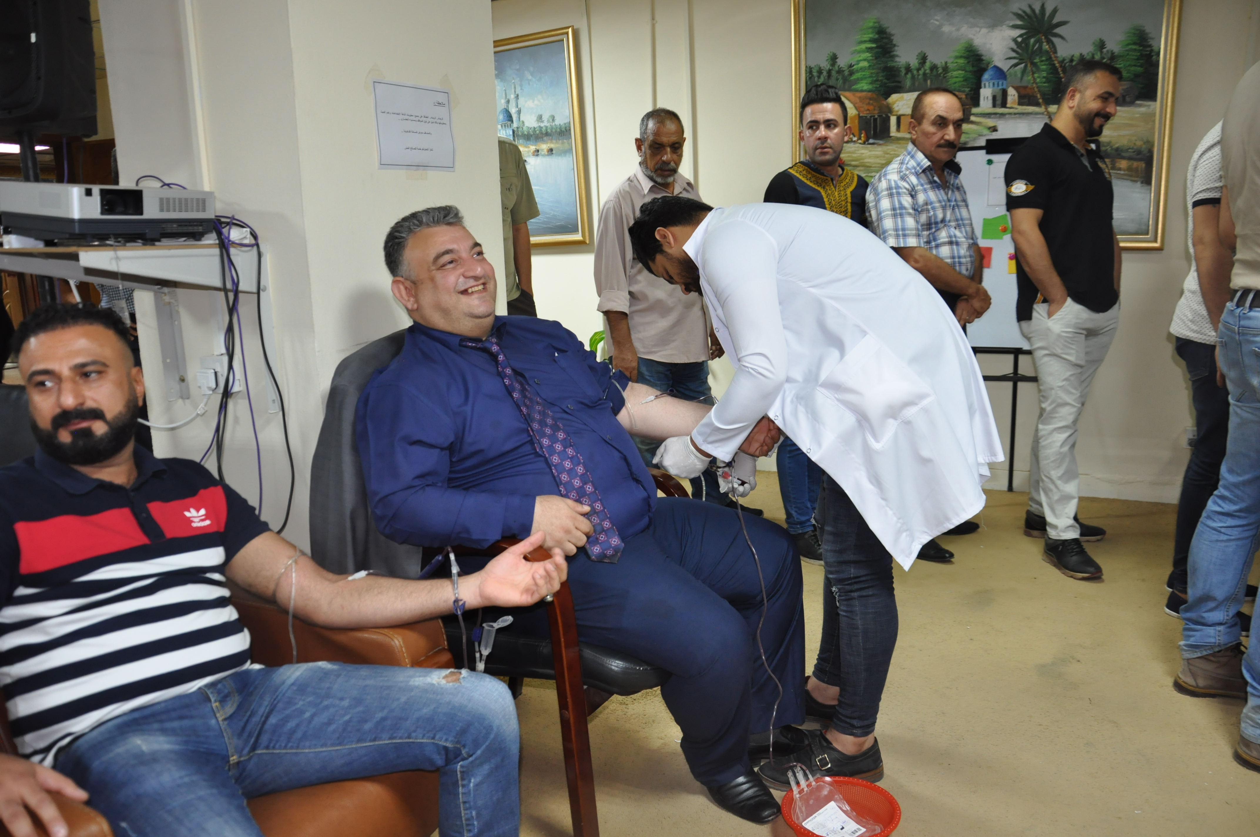 The Ministry of Finance is organizing a blood donation campaign for its employees DSC_0310