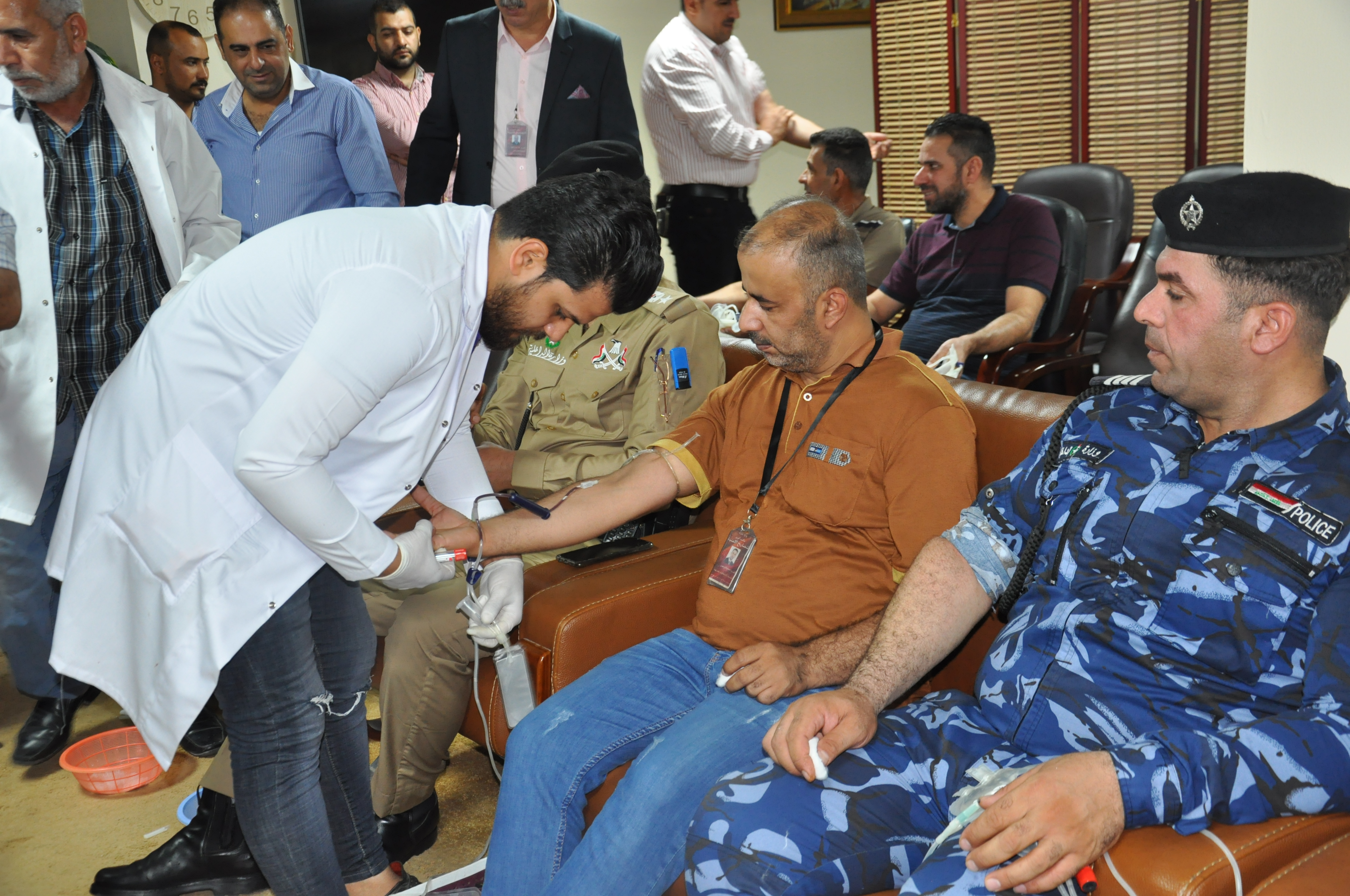 The Ministry of Finance is organizing a blood donation campaign for its employees DSC_0353