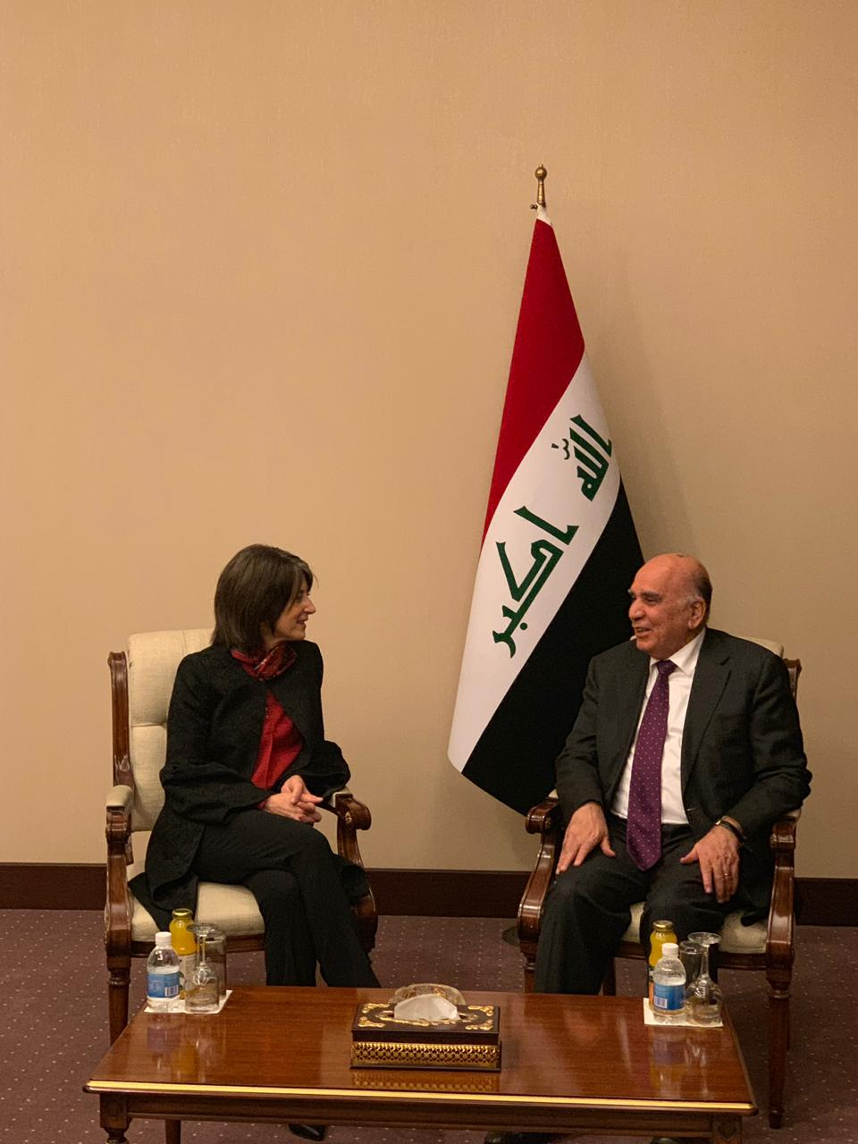 Saleh confirms Iraq's determination to strengthen relations with America WhatsApp%20Image%202019-03-05%20at%2011.00.51%20PM