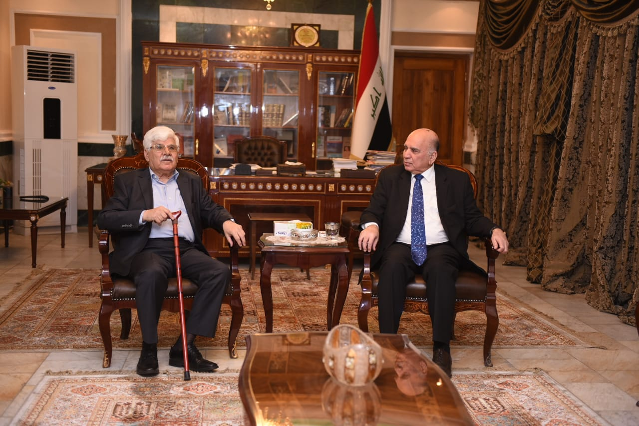 Deputy Prime Minister for Economic Affairs and Minister of Finance receives Iraqi thinker and politician Mr. Hassan Al Alawi C213a278-5092-4aed-aa4c-92eeb68b9725