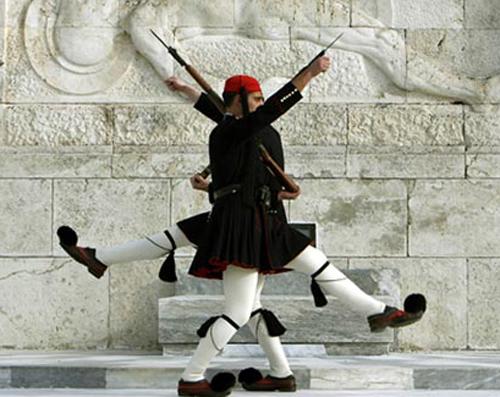 Ilusiones ópticas Greeksoldier
