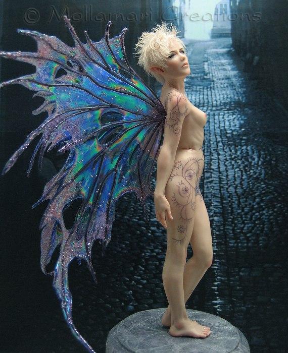 Immagini di sculture in cera e polimeri vari  (fantasy) Nr33Sadie15