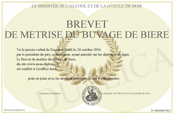 Concours de Machine et Paris Brest Paris 2019 - Page 4 700-674012-Brevet-de-metrise-du-buvage-de-biere