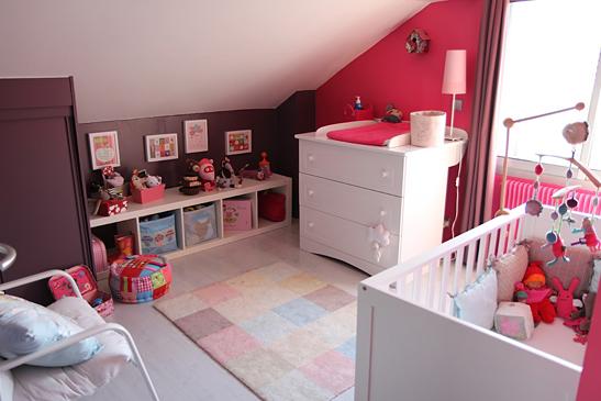 Décoration d'une chambre pour filles Chambre-bebe-louise-1