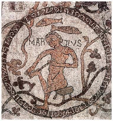 Marcolfo, Salomón y la Reina de Saba Marzo
