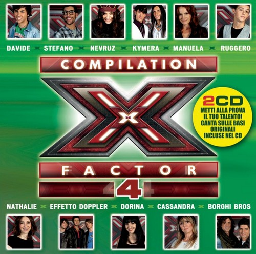 X Factor 4 compilation tracklist X-Factor-4-compilation-Cover1