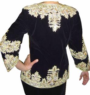 ملابس جزائرية تقليدية لأحلى عروس من عند أمولة KR52d