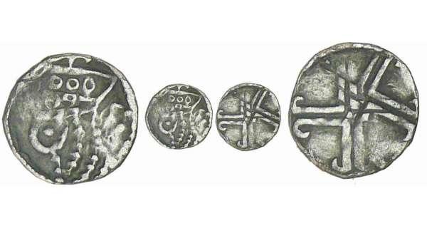 piecette d argent Flandre-gand-maille-12eme-z600972