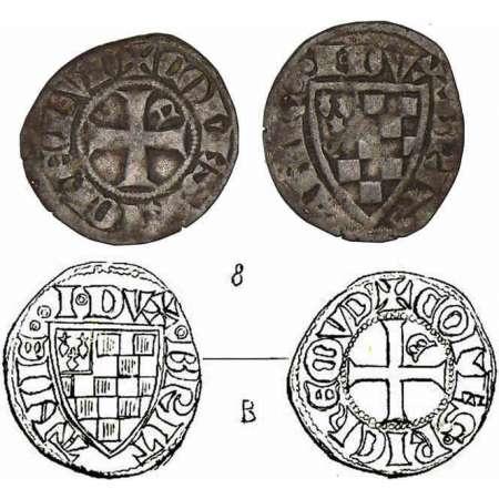 Denier breton de Jean III, atelier d'Évran Jean-denier-evran-z800637-2