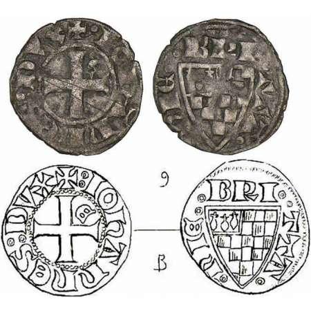 Denier breton de Jean III, atelier d'Évran Jean-iii-bon-denier-z800638-2